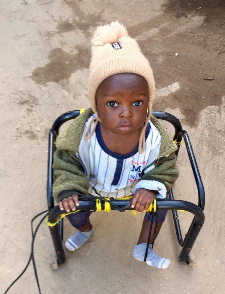Uno dei bimbi di Zanzibar